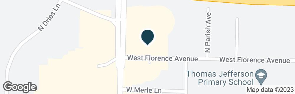 Google Map of3524 N UNIVERSITY ST