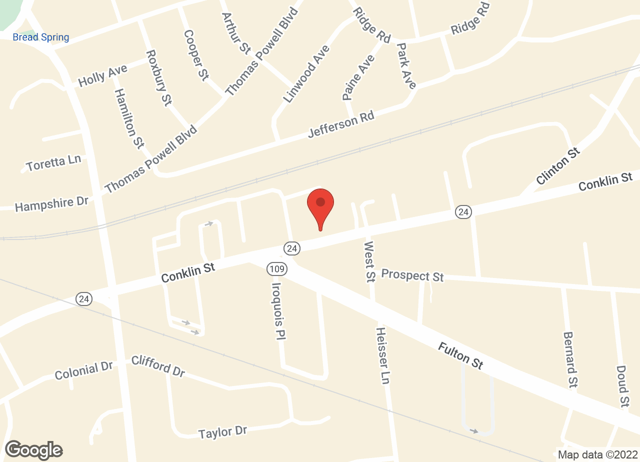 Google Map of Nassau-Suffolk Animal Hospital