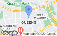 Map of Queens, NY