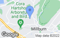 Map of Millburn, NJ