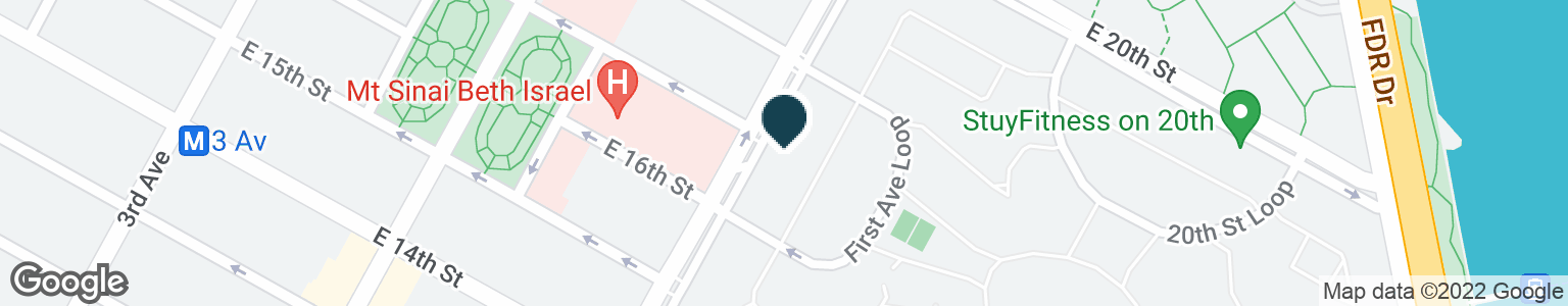 Google Map of298 1ST AVE