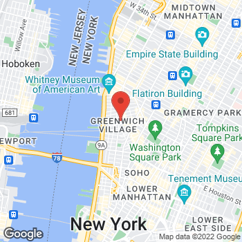 Map of Rite Aid at 534 Hudson Street, New York, NY 10014