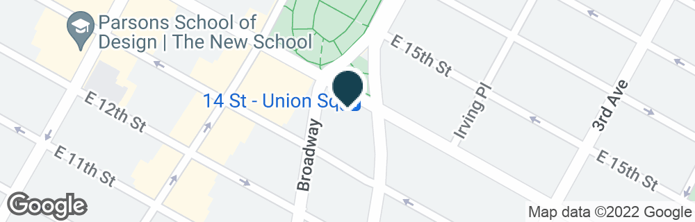 Google Map of1 UNION SQUARE SOUTH