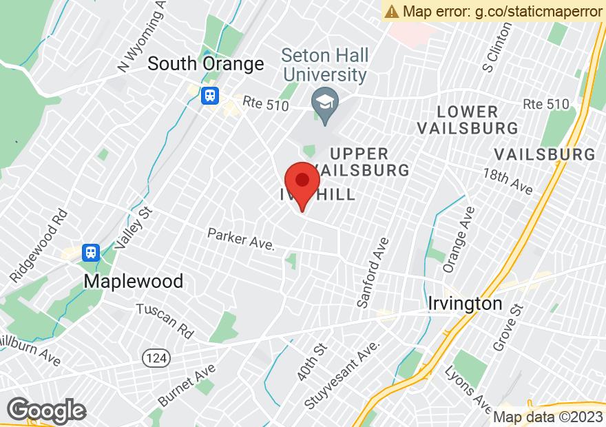 Google Map of 561-579 IRVINGTON AVE