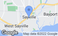 Map of Sayville, NY