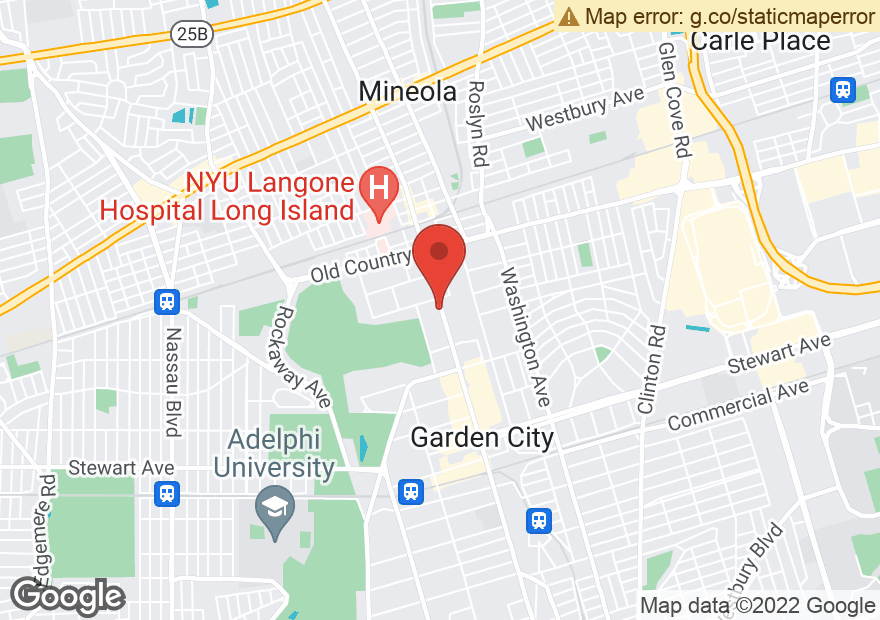 Google Map of 1300 FRANKLIN AVE