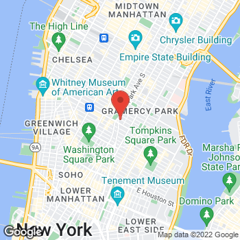 Map of Panera Bread at 10 Union Square East, New York, New York 10003