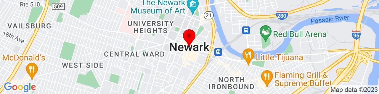 Google Map of 40.735657, -74.1723667