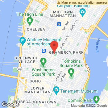 Map of American Eagle Studio at 19 Union Square West, New York, NY 10003