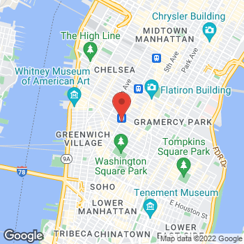 Map of Sunglass Hut at 510 6th Ave, New York, NY 10011
