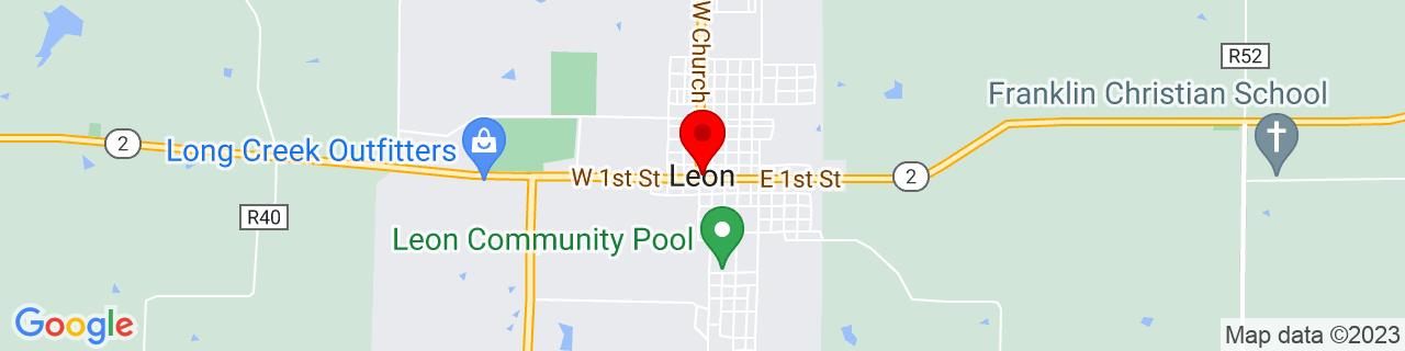 Google Map of 40.739724, -93.7477217