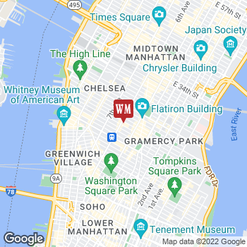 Map of Cost Plus World Market at 620 Sixth Avenue, New York, NY 10011