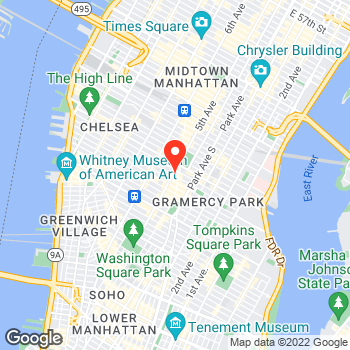 Map of Ann Taylor at 149 Fifth Ave, New York, NY 10010