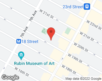 New York City Real Estate | View 121 West 19th Street, #3E | map