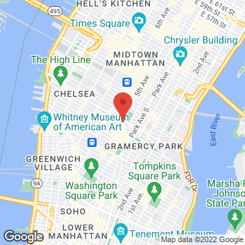 Map of Sprint at 175 Fifth Ave, New York, NY 10010