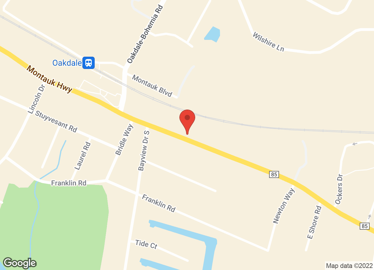 Google Map of Oakdale Animal Hospital