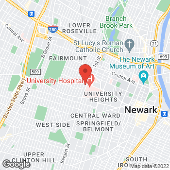 Map of Rite Aid at 104 12th Avenue, Newark, NJ 07107