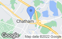 Map of Chatham, NJ
