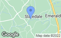 Map of Slatedale, PA