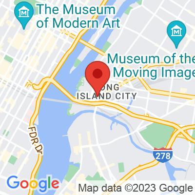 Map showing Sweetleaf — Long Island City