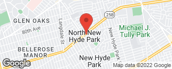 Map of 928 Hillside Ave in New Hyde Park
