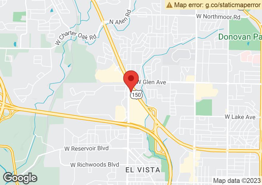 Google Map of 2324 W WAR MEMORIAL DR