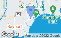 Map of Blue Point, NY