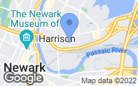 Map of Harrison, NJ