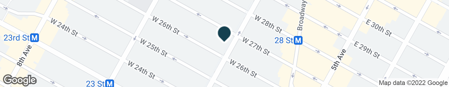 Google Map of777 AVENUE OF THE AMERICAS
