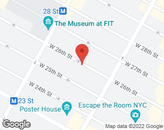 New York City Real Estate | View 142 West 26th Street, 9 FL | map