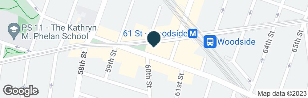 Google Map of6002 ROOSEVELT AVE