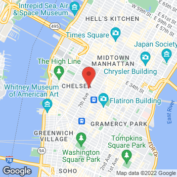 Map of buybuy BABY at 270 Seventh Avenue, New York, NY 10001