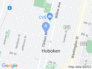 Map of Hoboken Unleashed Dog Boarding options in Hoboken | Boarding