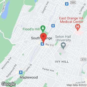 Map of Optimum WiFi Hotspot at 2 S Orange Ave, South Orange, NJ 07079