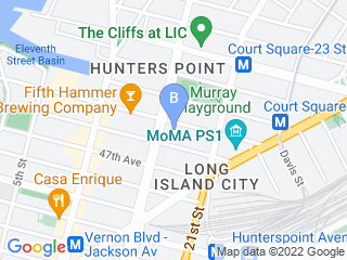 Map of Gimme Paw Dog Walking Dog Boarding options in Long Island City | Boarding