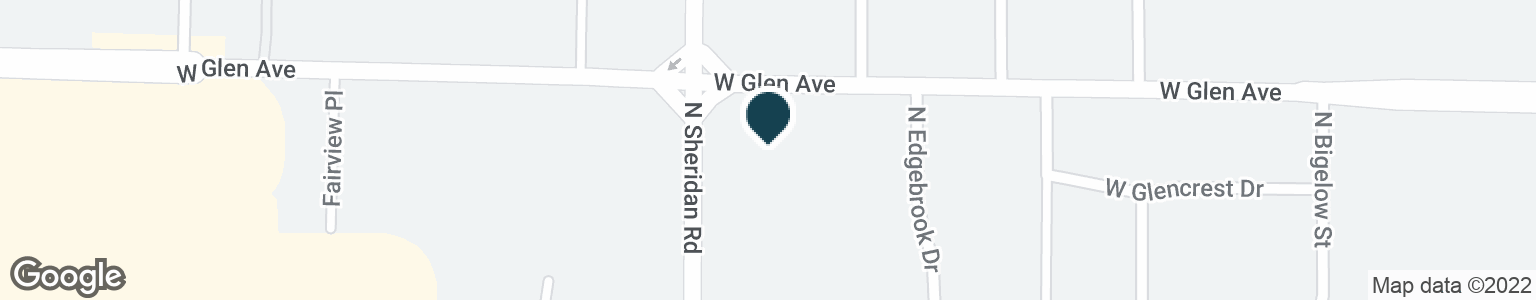 Google Map of4814 N SHERIDAN RD