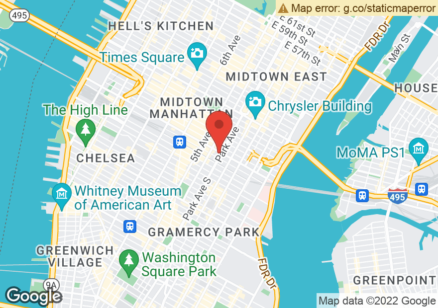 Google Map of 4 PARK AVE