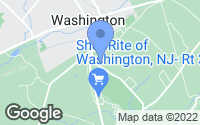Map of Washington, NJ