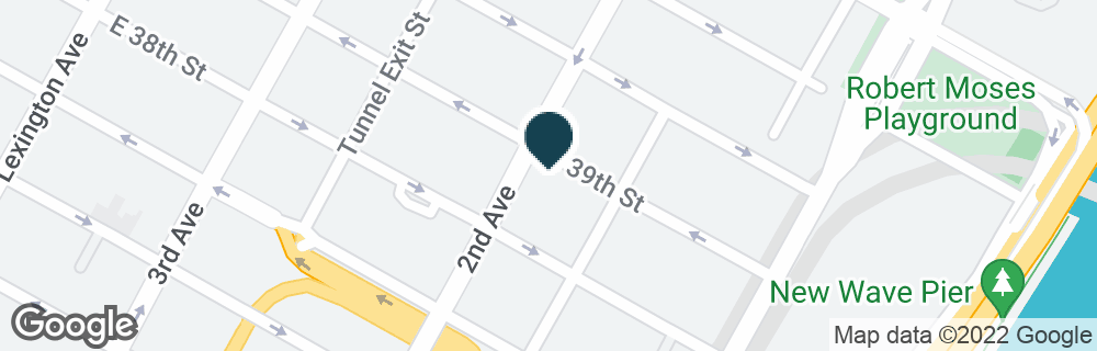 Google Map of300 E 39TH ST