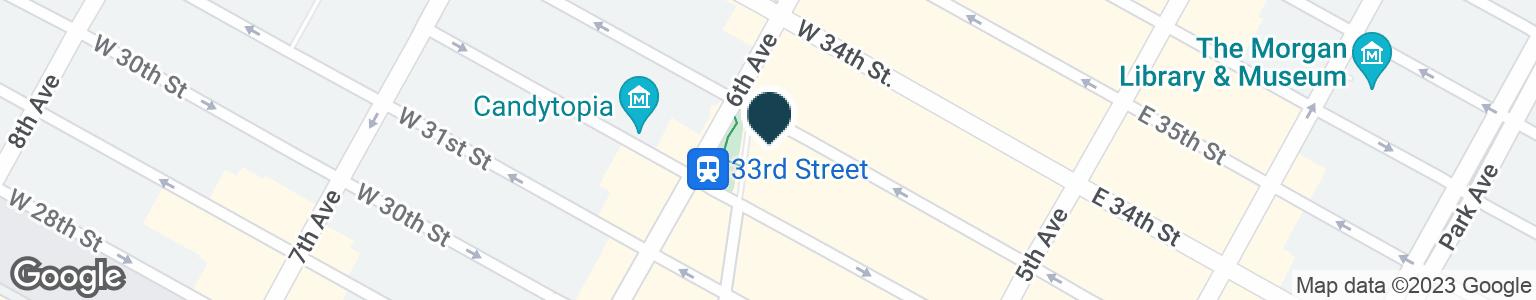 Google Map of1270 BROADWAY