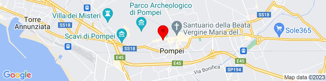 Google Map of 40.74881754464601, 14.49594497680664