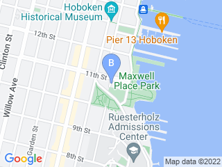 Map of Whiskers and Leo Pet Care Dog Boarding options in Hoboken | Boarding