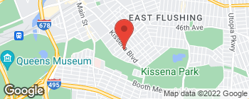 Map of 4632 Kissena Blvd in Flushing