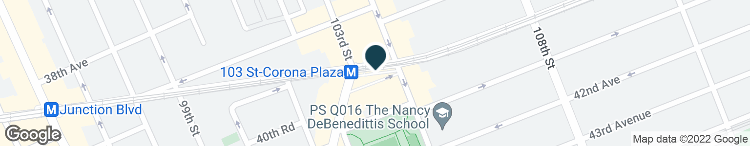 Google Map of10314 ROOSEVELT AVE