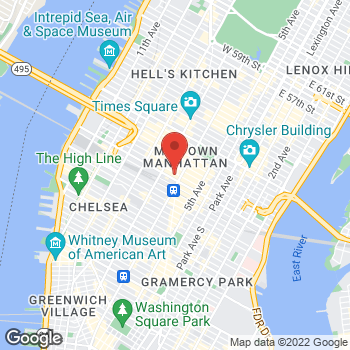 Map of BCBGeneration at Macy's at 151 W 34th Street, New York, NY 10001