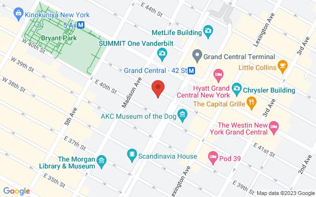 static image of 100 Park Avenue, New York, New York