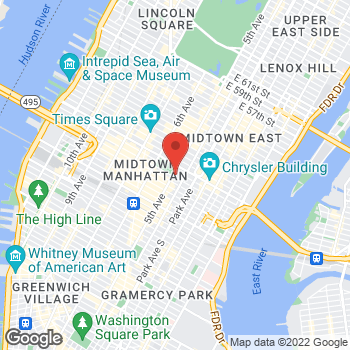 Map of BCBGMAXAZRIA at 461 5th Avenue, New York, NY 10017