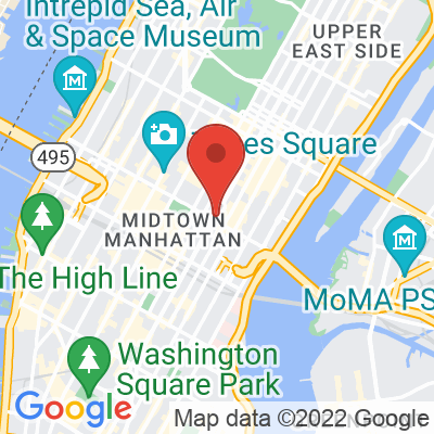 Map showing Café Grumpy — Grand Central Terminal