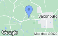 Map of Saxonburg, PA