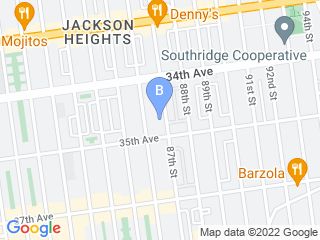Map of NY Paw Pals Dog Boarding options in Jackson Heights | Boarding